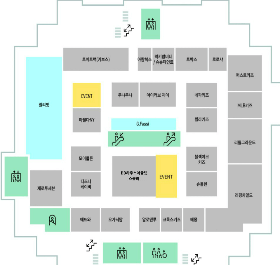 동대문 현대아울렛 8층