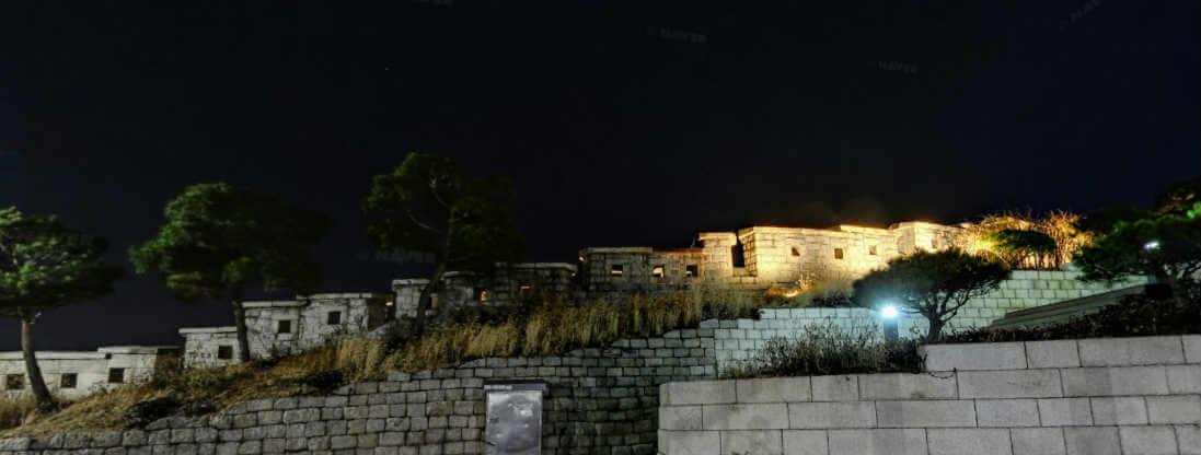 동대문 성곽공원 야경 1