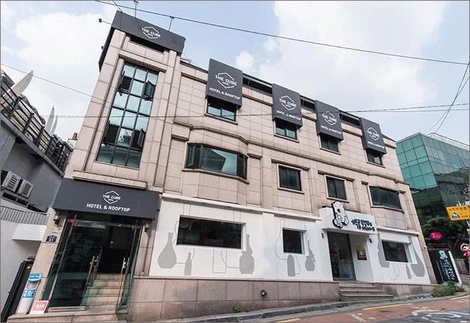 서울역-캡슐-호텔-더-큐브-외관