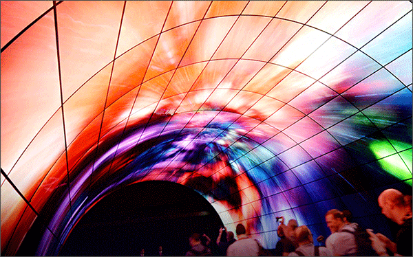 곡선-OLED