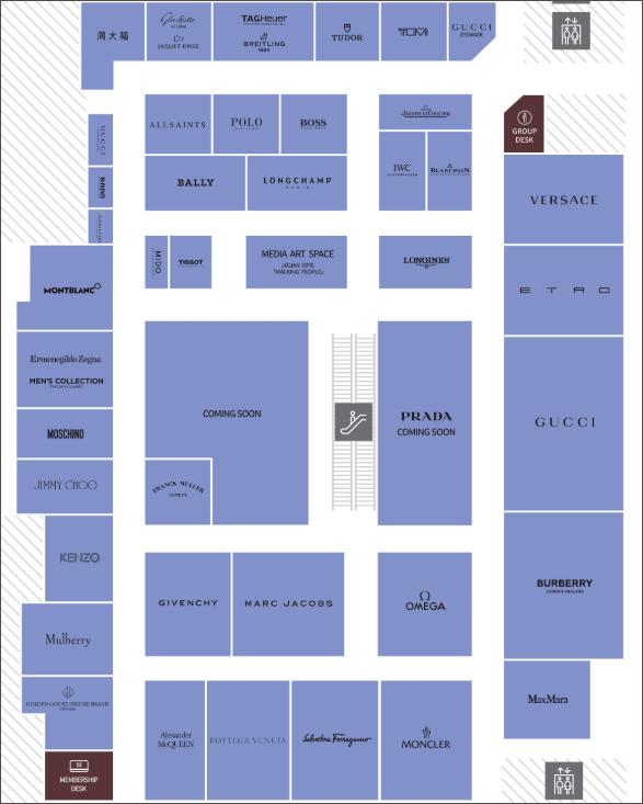 현대백화점-무역센터-면세점-8층-약도