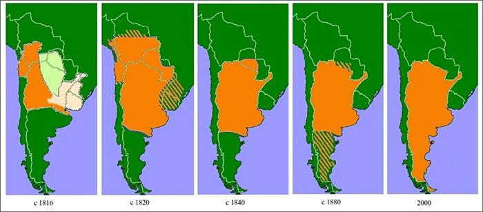아르헨티나 영토 확장