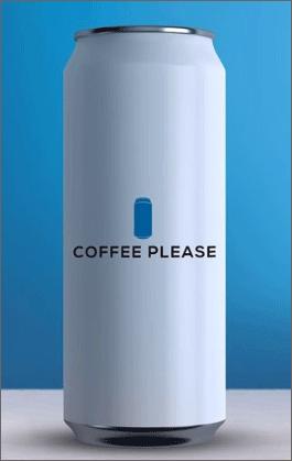 커피플리즈 일반 캔