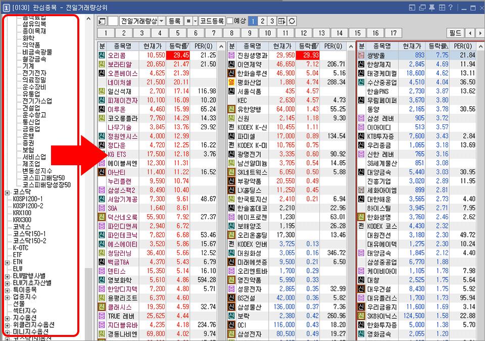 키움 영웅문 HTS 추천 2