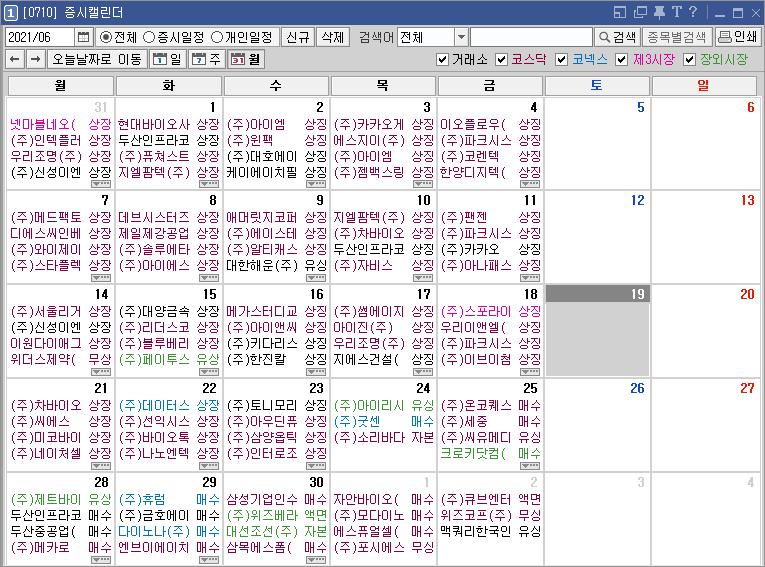 키움 영웅문 HTS 추천 10