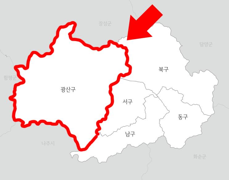 광산세무서 관할지역 2
