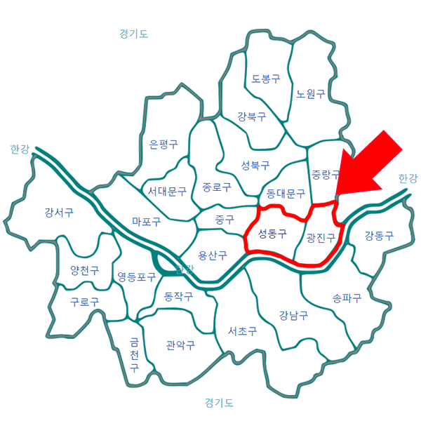 성동세무서 관할지역 1