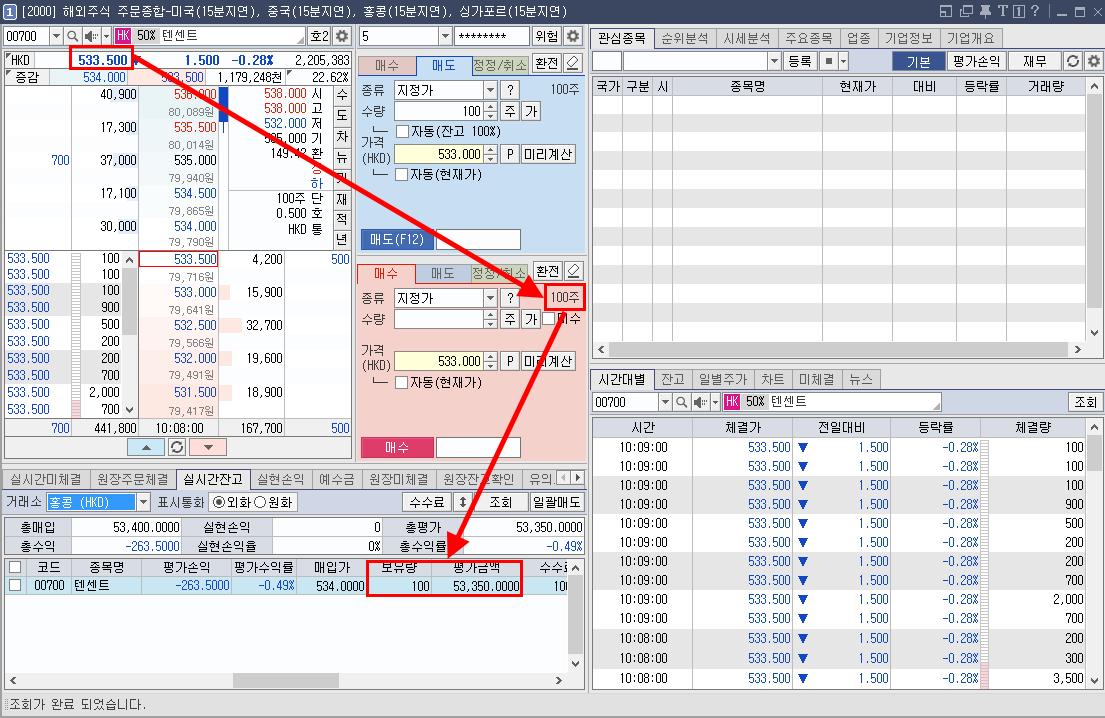텐센트 주식 매수 4